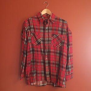 Vtg lumberjack flannel size M